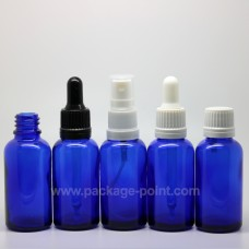 50 ml Dropper Bottle Glass Blue