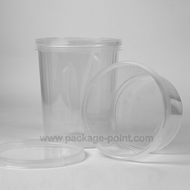 1000 ml Container Cylindrical PP