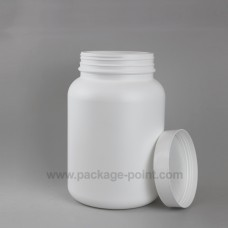 Large Roundpacker plastic HDPE 4000ml