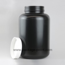 Large Roundpacker plastic HDPE 7000ml