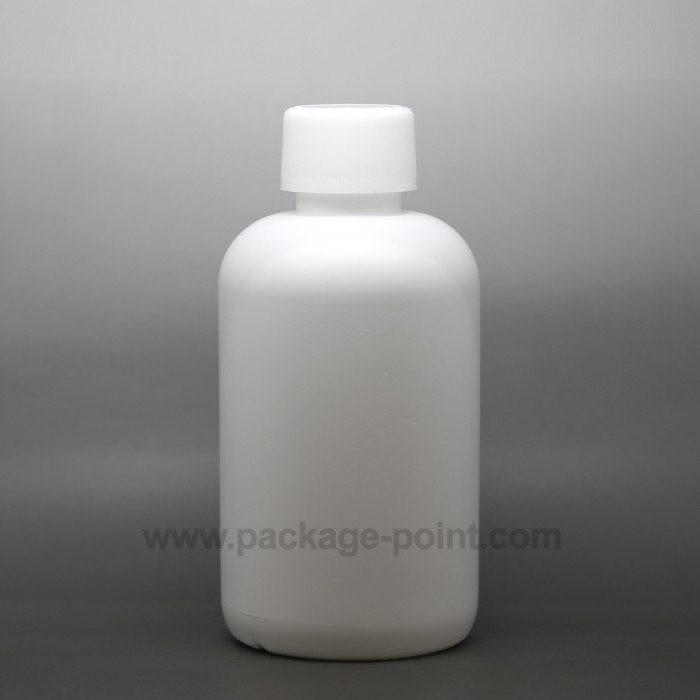 250 ml Cylindrical Boston HDPE Bottle