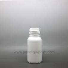 60ml Cylindrical Boston HDPE Bottle