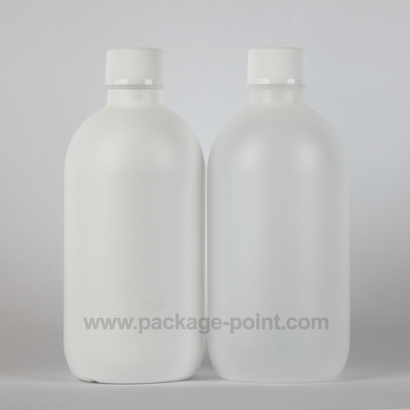 500 ml Cylindrical Boston HDPE Bottle