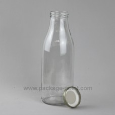 500 ml Milk Round Glass Bottle