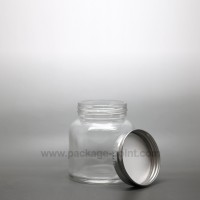 170 ml Glass Jar with metal cap