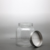 220 ml Glass Jar with metal cap