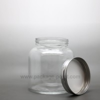 280 ml Glass Jar with metal cap