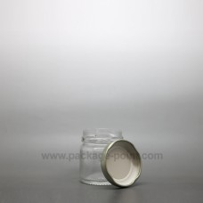 30 ml Glass Jar with golden metal cap