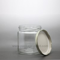 270 ml Glass Jar with golden metal cap