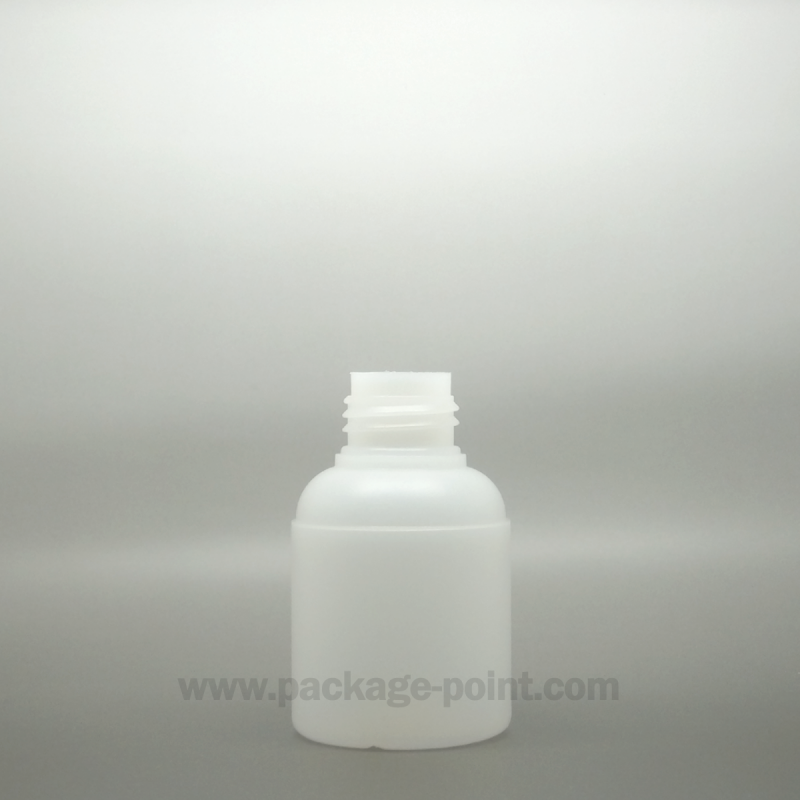 60ml  Cilindrical HDPE Bottle for Special Caps