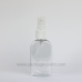 50ml Flat Hands Gel Bottle Clear PET