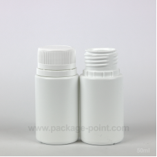 50ml Pill HDPE Bottle