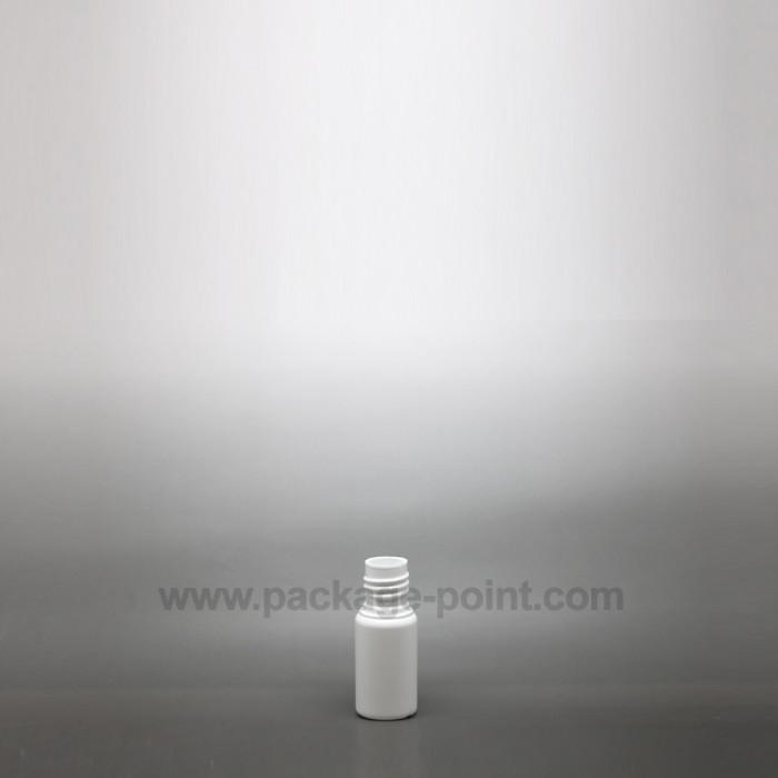 12ml Cylindrical HDPE Bottle