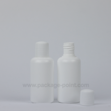 50ml Cylindrical HDPE Bottle