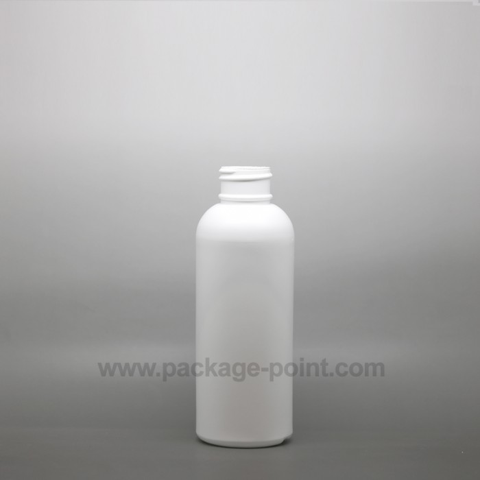 100ml Cylindrical Tall Boston HDPE Bottle