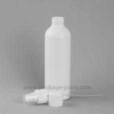200ml Cylindrical Tall Boston HDPE Bottle