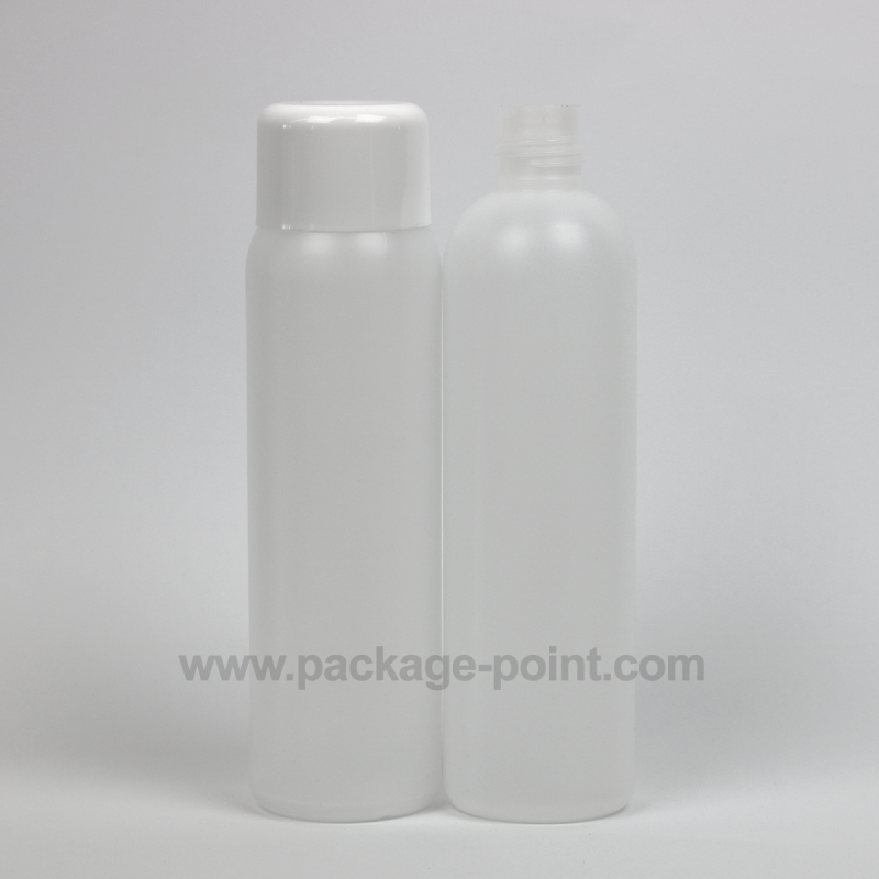 250ml Cylindrical HDPE Bottle For Special Caps