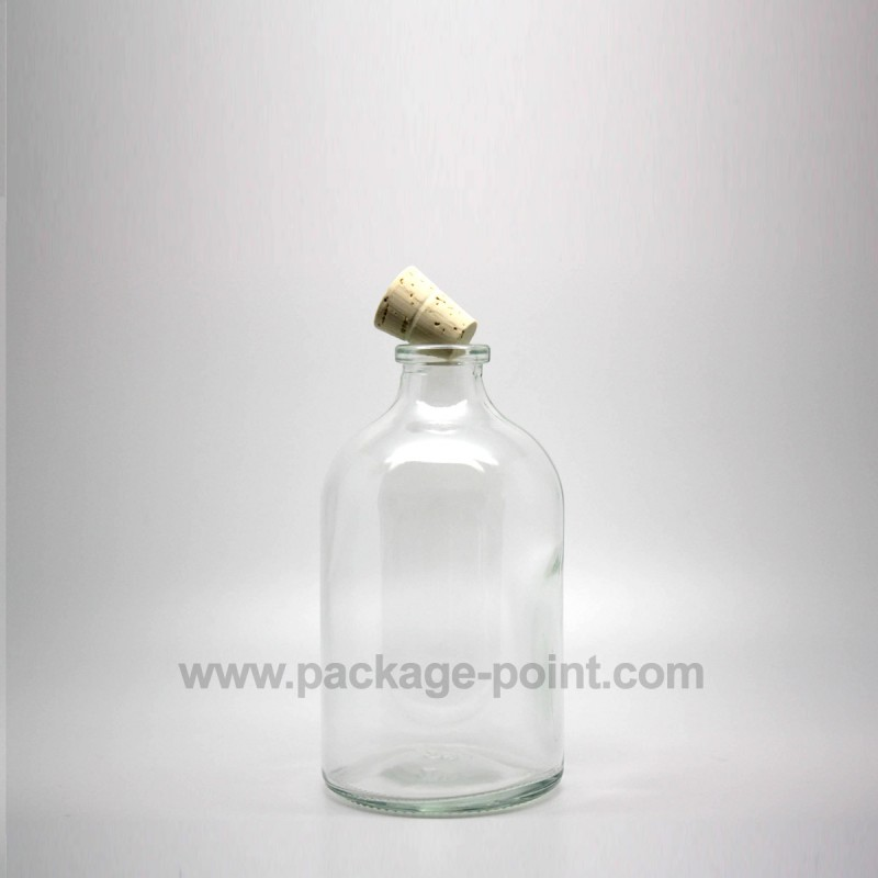100ml Old Pharmacy Glass Bottle