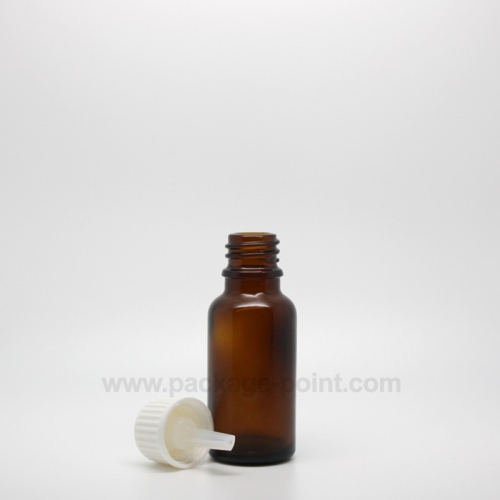 20 ml Dropper Bottle Glass Amber