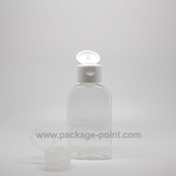 50ml Hands Gel Bottle Clear PET