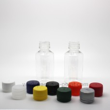 Round Bottle 30ml Crystal PET