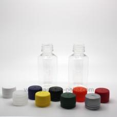 30ml  Round Bottle Crystal PET