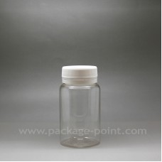 100ml Pill Bottle plastic PET