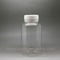 200ml Pill Bottle plastic PET