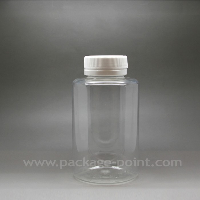 250ml Pill Bottle plastic PET