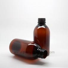 Round Bottle 150ml Amber PET